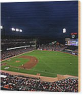 Texas Rangers V San Francisco Giants Wood Print