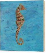Thalassa Seahorse Wood Print