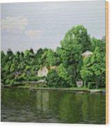 Thames At Reading Wood Print