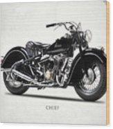The 1947 Chief Wood Print