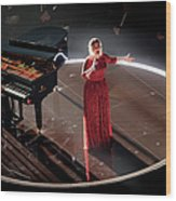 The 58th Grammy Awards - Roaming Show Wood Print