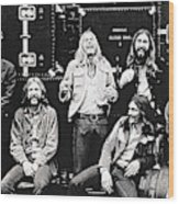 The Allman Brothers Band Wood Print
