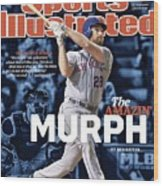 The Amazin Murph 2015 World Series Preview Issue Sports Illustrated Cover Wood Print