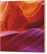 The Antelope Canyon Page Arizona Wood Print