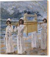 The Ark Passes Over The Jordan, 1902 Wood Print