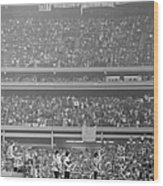 The Beatles At Shea Stadium, Our Mets Wood Print