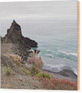 The Beauty Of Big Sur Wood Print