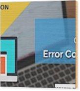 The Best Expert Resolve Quickbooks Error 6147,0 Wood Print