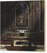 The Blessing Wood Print