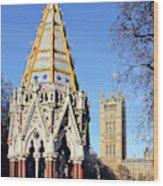 The Buxton Memorial Fountain London Wood Print