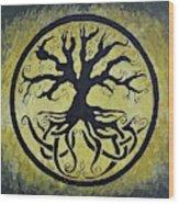 The Circle Of Life Wood Print