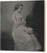 The Commentary 1843 Wood Print