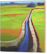 The Ditch Wood Print