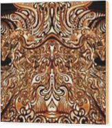 The Divine Chariot Wood Print