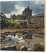The Eilean Donan Castle Wood Print