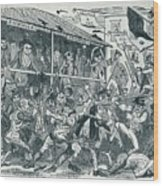 The Election At Eatanswill, C1836, 1925 Wood Print