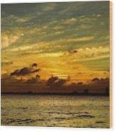 The Eve Of Hurricane Michael IIi Wood Print