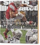 The Ezekiel Elliott The Ohio State University The National Sports Illustrated Cover Wood Print