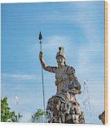 The Fountain Of Rometta Wood Print