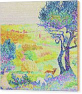 The Full Of Bormes - Digital Remastered Edition Wood Print