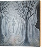 The Ghost Of A Loved One Wood Print