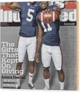 The Gifts That Kept On Giving Auburn Football Sports Illustrated Cover Wood Print