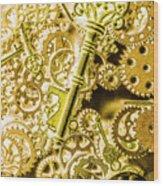 The Golden Ratio Wood Print