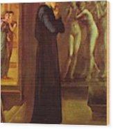 The Heart Desires The Pygmalion Series 1870 Wood Print