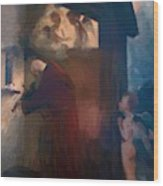 The Hermit 1884 Wood Print