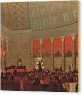 The House Of Representatives, 1822 Wood Print