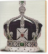 The Imperial Crown Of India Wood Print
