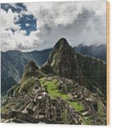 The Inca Trail, Machu Picchu, Peru Wood Print