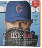 The Lester Factor Sports Illustrated Cover Wood Print