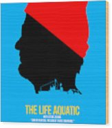 The Life Aquatic Wood Print