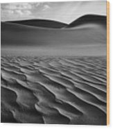 The Living Dunes, Namibia I Wood Print