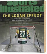 The Logan Effect. Lives Lost, Lives Saved Healing And Sports Illustrated Cover Wood Print