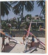 The Lure Of Lamu Wood Print