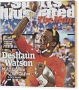 The Man Deshaun Watson Makes Clemson The Team To Beat Sports Illustrated Cover Wood Print