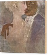 The Mulatto And The Sculpturesque White Woman 1913 Wood Print