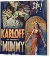 The Mummy 1932 Film Wood Print