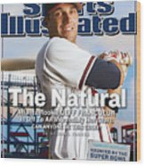The Natural Atlanta Rookie Jeff Francoeur Is Off To An Sports Illustrated Cover Wood Print