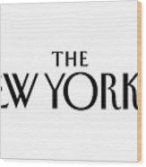 The New Yorker Logo Wood Print