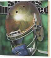 The Notre Dame Miracle Sports Illustrated Cover Wood Print