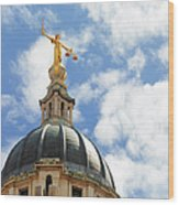 The Old Bailey, Central Criminal Court Wood Print