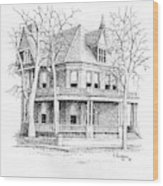 The Old Governors Mansion,  Helena, Montana Wood Print