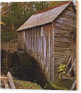 The Old Grist Mill Wood Print