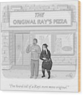 The Original Ray's Wood Print