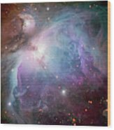 The Orion Nebula Wood Print