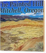 The Painted Hills Mitchell Oregon Wood Print