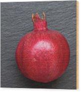 The Pomegranate Fruit Wood Print